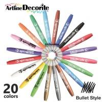 Artline Decorite Style Brush EDF-1 - Spidol Dekorasi Ukuran 1.0 mm