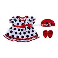 Dress bayi baju set pakaian anak perempuan fashion rok bayi cewek lucu
