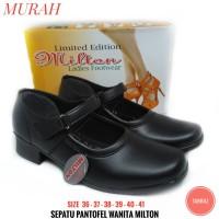 Sepatu Pantofel Wanita MILTON Sepatu Pantopel Perempuan - Model Trendi