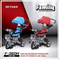 Sepeda anak roda tiga Family Tricycle F-360 H
