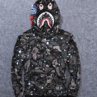 hoodie bape shark space galaxi kw BUKAN KALENG