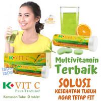 K-Vit C Plus Teavigo K-Link Vitamin C Multivitamin Terbaik