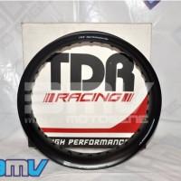 Velg Tdr Black Tapak Lebar Ukuran 215/250 Ring 17-Moto Variasi