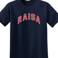 kaos t shirt kaos pria RAISA bahan bagus warna lengkap stok tersedia