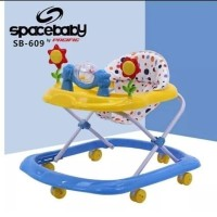 Apolo Baby Sapce Baby Walker Spacebaby SB609 Roller Toy Sunflower Toy