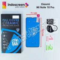 Xiaomi Mi Note 10 Pro Indoscreen Ceramic Anti Gores Full Cover - ORI