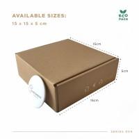 Box Packaging (15.0x15.0x5.0 cm) Kardus Premium Ready Stock
