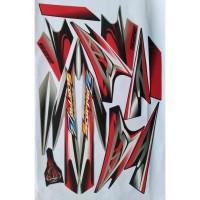 stiker striping scorpio Z 225 2008 hitam