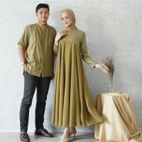 Baju Couple Pasangan Muslim Couple Najwa Premium High Quality Termurah