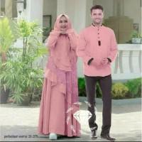 AF Couple Baju Muslim Gamis Syari Terbaru Murah Ayu