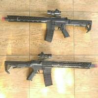 AR-15 / M416 / M4 Predator Dcobra Viper CTR Spring Toys Rifle