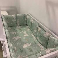 bumper box baby bumper+sprei aja motif rabbit