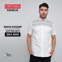 Baju Koko Slimfit Pria (Cressida RMHS.FH528P) Cotton 40's