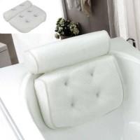 Tub Spa Pillow 3D Mesh Bathroom Bathtub Pillow Non-slip Cushioned Bath