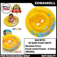 INTEX Pelampung Ban Renang Anak Bayi / Berenang - My Baby Float 59574