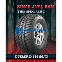 Ban Bridgestone Dueler D-674 (M/T) ukuran 285/75 R16