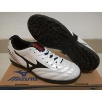 Terpopuler ! Sepatu Futsal Mizuno Monarcida White - TURF Qlty