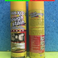 Waxco Tough Stain Cleaning Foam Pencuci Kotoran Bahan Beludru 500 Ml
