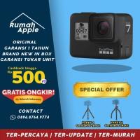 GoPro Hero 7 Go Pro Black Edition 4K 12MP 2018 Garansi 1 Tahun