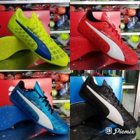 Sale Sepatu Futsal Puma Evo Speed Red Blue Black 2017 New