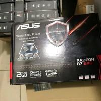 VGA Card Asus Ati Radeon R7 240 2 GB DDR3 128 bit PCI E spare parts