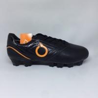 Sepatu Bola Ortuseight Genesis Fg Black Orange Ks