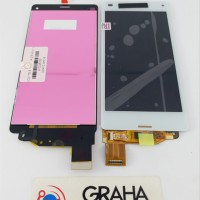 LCD SONY EXPERIA Z3 COMPACT D5803 FULLSET TOUCHSCREEN ORIGINAL TERBA