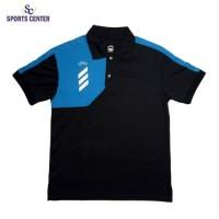New Kaos Olahraga Marvell Kerah Cool Fit Wolverine Black Cyan