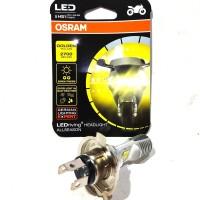Bohlam Lampu Depan LED Osram motor H4/HS1 KUNING Vixion R15 Mx ing