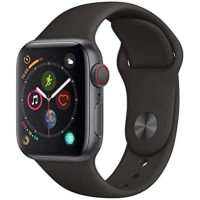 Apple Watch Series 4 40mm GPS+Cell -Space Gray Aluminum Black Sport