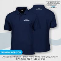 Polo shirt Kaos Kerah Civil Engineer New Good Quality