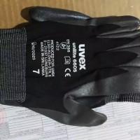 original sarung tangan EN 388 uvex unilite 6605 made in srilanka