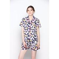 Piyama Baju Tidur TsumTsum Biru - Premium , Adem , Nyaman Baju Rumah !