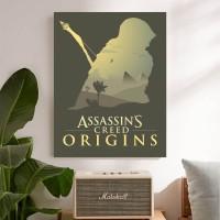 Assassin Creed Origins Poster Kayu (30x22)
