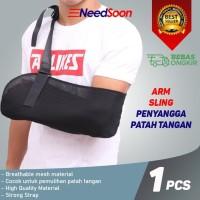 ORIGINAL AOLIKES Arm Sling Penyangga Patah Tangan Support Recovery