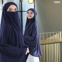 Jilbab French Khimar Terbaru Hijab Instan Madinah Bergo Syria Cadar
