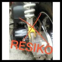 Peninggi Shock Skok Belakang Tabung Padat Matic 4 6 8 10 Honda Beat