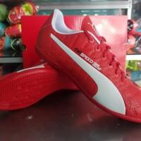 Sepatu Futsal Puma Evo Speed Red Blue black 2017