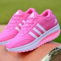 Laris Sepatu Wanita Adidas SDS275 Abu - Pink Fanta T3 ...