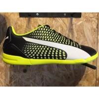 Kioosport Sepatu futsal puma original Adreno 3 IT black stabilo new