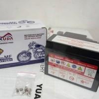 Aki Motor Yamaha Jupiter MX New-Vixion Xtra Battery Gtz5s Aki Gel Acid