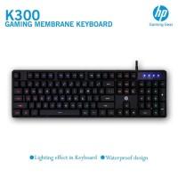 HP K300 Mechanical Feeling Lightning 7-color Backlit Gaming Keyboard