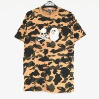 Bape Mastermind VS Bape T-shirt - Yellow 100% Original