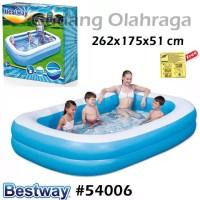 Bestway 54006 Kolam Renang Karet Anak Jumbo / Keluarga Besar 262 cm