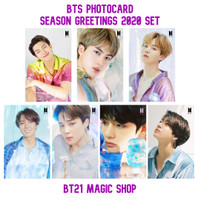 BTS Photocard Season Greeting's 2020 Set