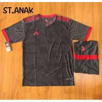 Setelan futsal anak SD adidas MU 8/ seragam bola/kostum bola/baju bola