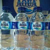AQUA Air Mineral 330ml 1 Karton | 24 Botol x 330 ml