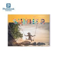 """Album Foto 8"""" x 6"""" 40 Halaman Softcover Landscape dari Photobook"""