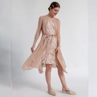 ATELIER MODE Cocktail Dress Asymetrique Hem Coco Dress Wanita