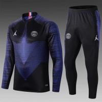 Jaket Sweater Midlayer Tracksuit Training PSG AiR JORDAN PARiS SAiNT